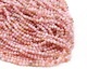 Pink Opal Faceted Round 3mm