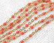 Gold (plated) Stainless Steel Coral Small Cable Chain