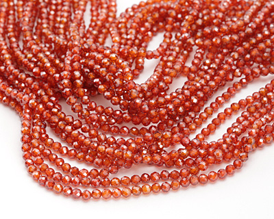 Salsa Cubic Zirconia Faceted Round 3mm