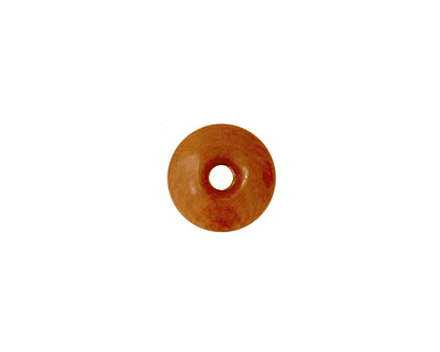 Tagua Nut Caramel Rondelle 3x8mm