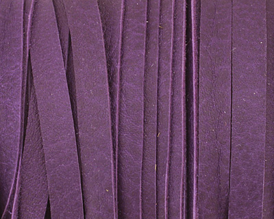 Violet Deertan Leather Lace 5mm