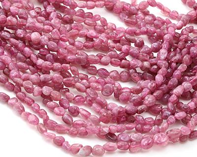 Pink Tourmaline (A) Nugget 4-6mm
