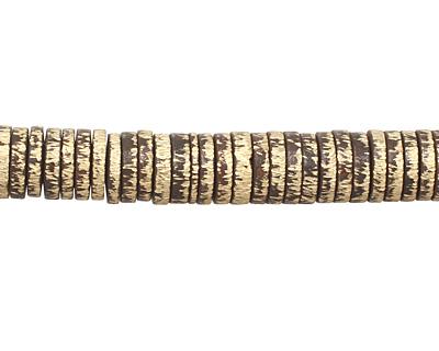 Saki Bronze Etched Disc (large hole) 1.5x7mm