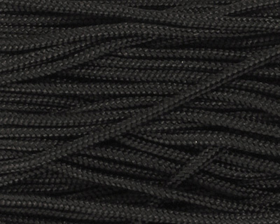 Black Chinese Knotting Cord 1mm