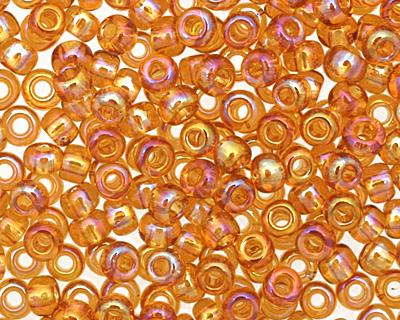 TOHO Transparent Rainbow Topaz Round 11/0 Seed Bead