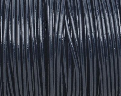 Pacific Round Leather Cord 2mm