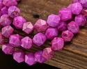 Ruby Crazy Lace Agate Star Cut 8mm