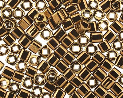 TOHO Bronze Cube 1.5mm Seed Bead