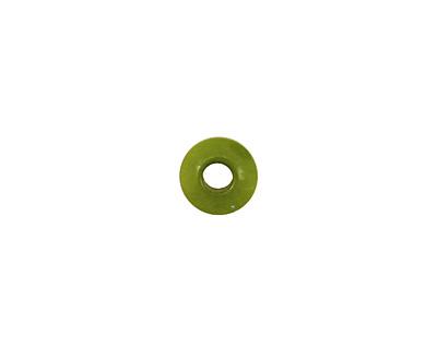 Tagua Nut Apple Large Hole Rondelle 3x8mm