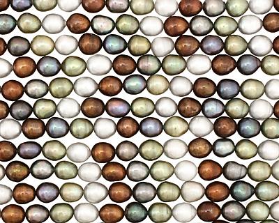 Multi Color Rice 9-10x8-9mm