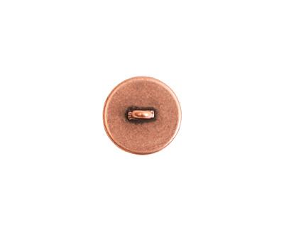 Nunn Design Antique Copper (plated) Small Circle Frame Button 13mm