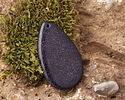 Blue Goldstone Teardrop Pendant 30x48-50mm
