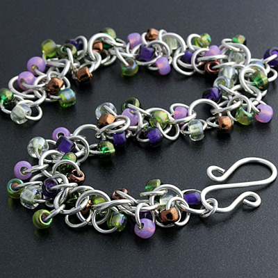 Weave Got Maille Wine Country Shaggy Loops Bracelet Kit