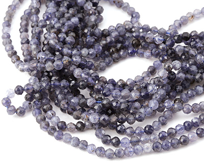 Iolite Faceted Round 4mm
