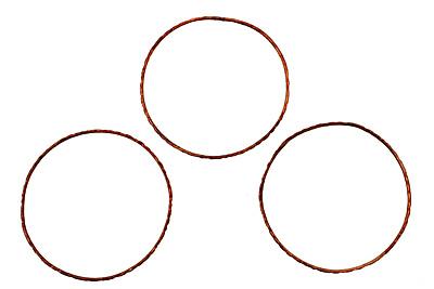 Missficklemedia Patinated Chestnut Link 56mm