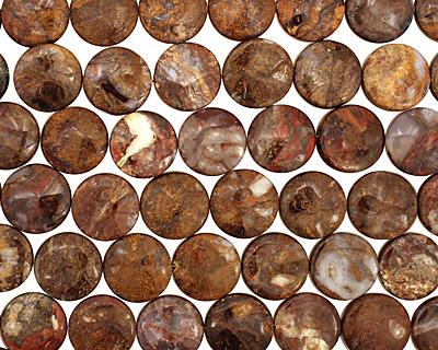 Pietersite Puff Coin 20mm