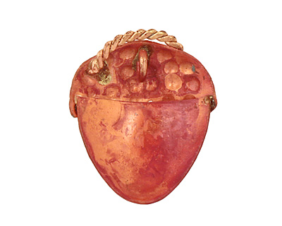 Patricia Healey Copper Acorn Charm 22-23x26-27mm