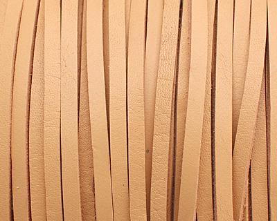 Natural Beige Leather Belting Lace 3mm