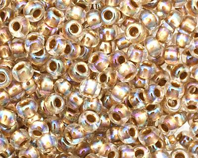 TOHO Rainbow Crystal (with Gold Lining) Round 11/0 Seed Bead