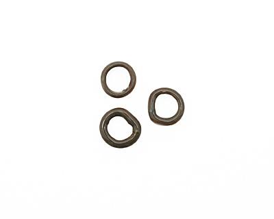 C-Koop Enameled Metal Steel Gray Ring 10-11mm