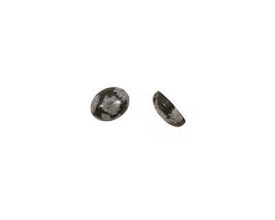 Snowflake Obsidian Oval Cabochon 8x10mm