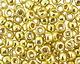 TOHO Permanent Galvanized Yellow Gold Round 8/0 Seed Bead