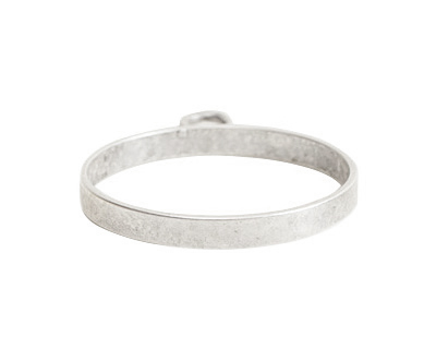 Nunn Design Sterling Silver (plated) Large Open Circle Frame 25x31mm