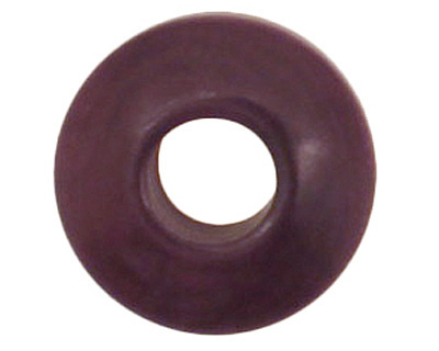 Tagua Nut Grape Large Hole Rondelle 3x8mm