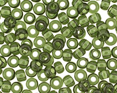 TOHO Transparent Olivine Round 11/0 Seed Bead