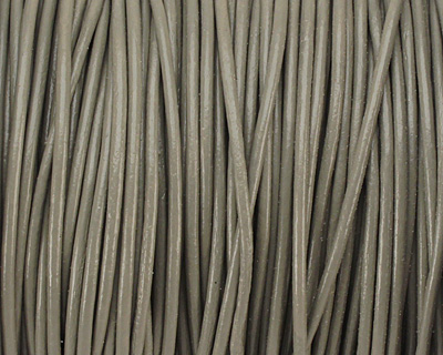 Coconut Round Leather Cord 1.5mm