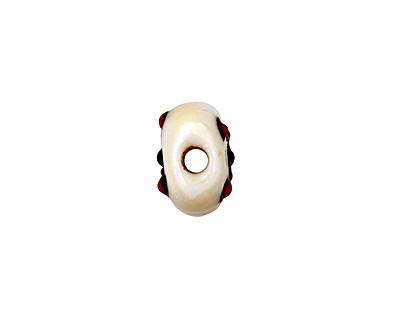 Grace Lampwork Skull 18x12mm