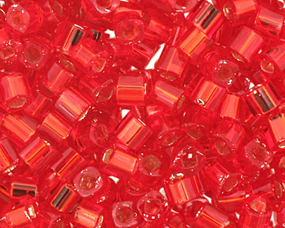 TOHO Ruby (with Silver Lining) Cube 1.5mm Seed Bead