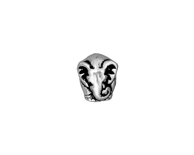 TierraCast Antique Silver (plated) Elephant Euro 9x11mm
