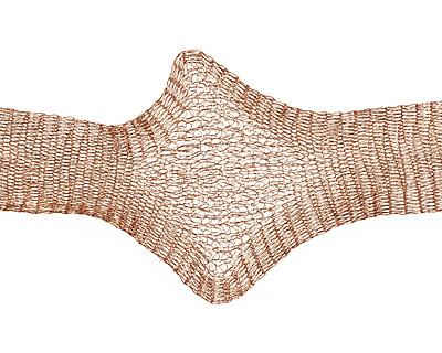 WireLace Cocoa Ribbon 20mm