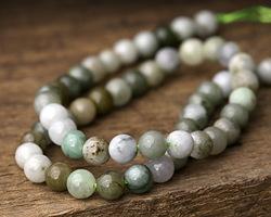 Burma Jade (dark) Round 6mm
