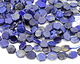 Lapis Natural Cut Hexagon Slice 12-15mm