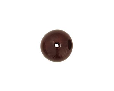 Tagua Nut Espresso Round 20mm
