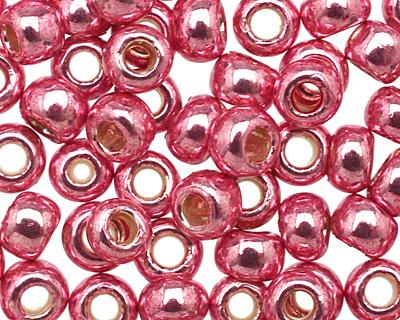 TOHO Galvanized Pink Lilac Round 8/0 Seed Bead