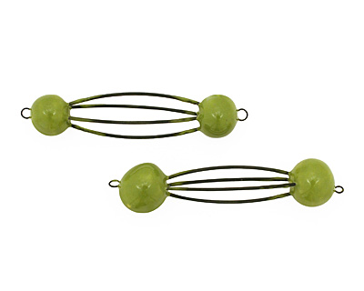Jangles Ceramic Chartreuse Cage 73-83x13-17mm
