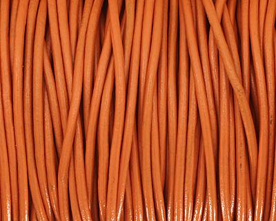 Tahiti Round Leather Cord 2mm