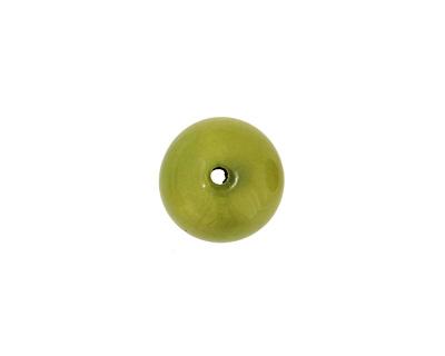 Tagua Nut Apple Round 20mm