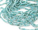 Brazil Amazonite Faceted Round 3mm