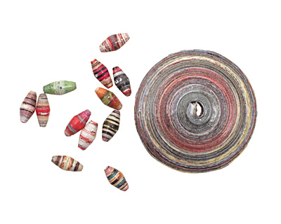 Paper Bead Kit w/ Bamboo Roller