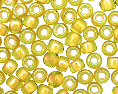 TOHO Jonquil (with Apricot Lining) Round 8/0 Seed Bead