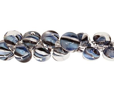 Unicorne Beads Exotic Sea Scales Teardrop 7x9mm