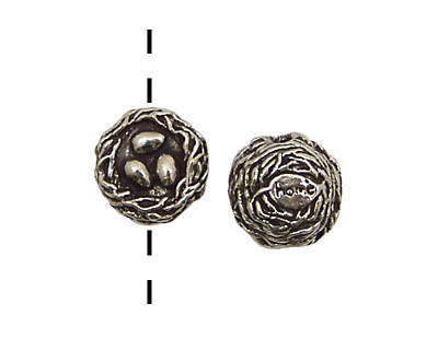 Green Girl Pewter Home Nest 15mm