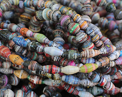 Paper Bead Small Mix