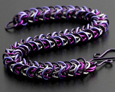 Weave Got Maille Cleopatra Box Chain Bracelet Kit