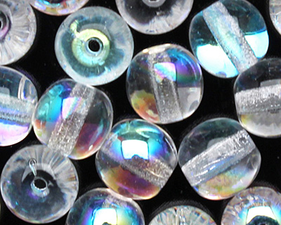 Czech Glass Crystal AB Round 6mm
