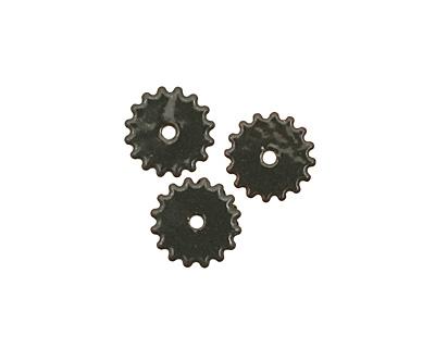 C-Koop Enameled Metal Steel Gray Small Closed Gear 16mm
